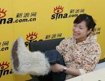 徐静蕾作客新浪嘉宾聊天室聊电影《来信》(2)