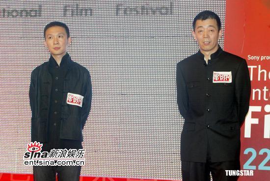 图文:香港国际电影节揭幕众星云集典礼现场(5)
