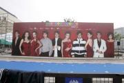 组图:香港电影节颁奖礼会场星光大道等待群星
