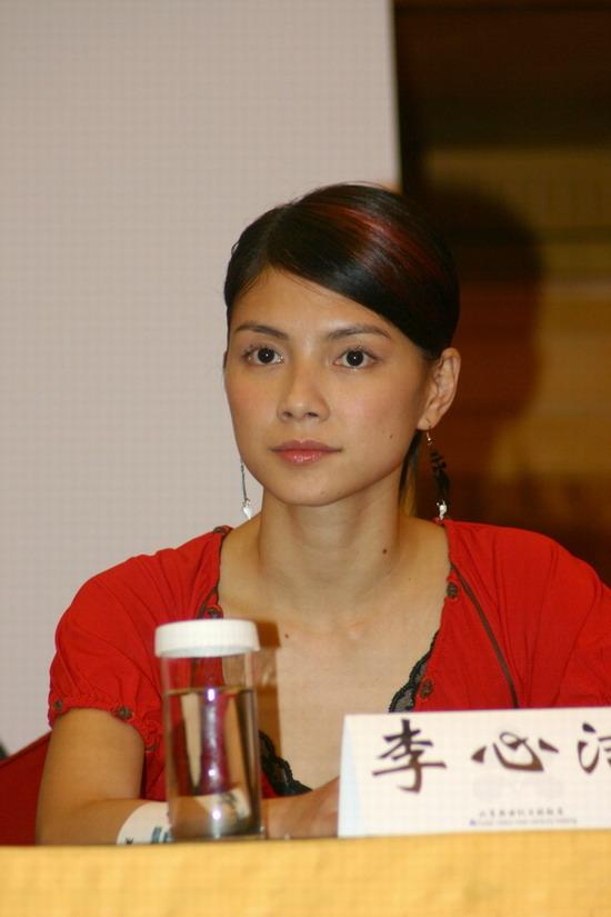 图文:《三岔口》北京首映李心洁出席仪式