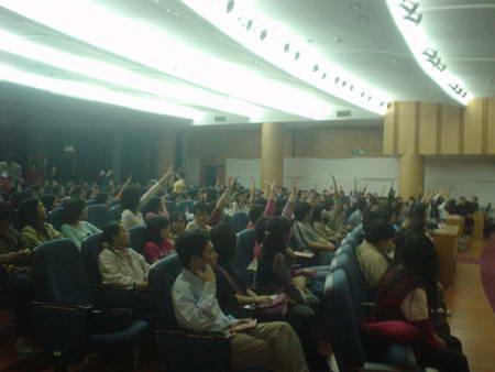 第12届大学生电影节中山大学分会场活动开幕