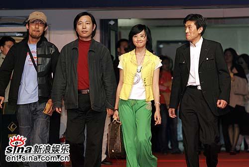 图文:电影《青花》主创杨子桑华等闪亮登场