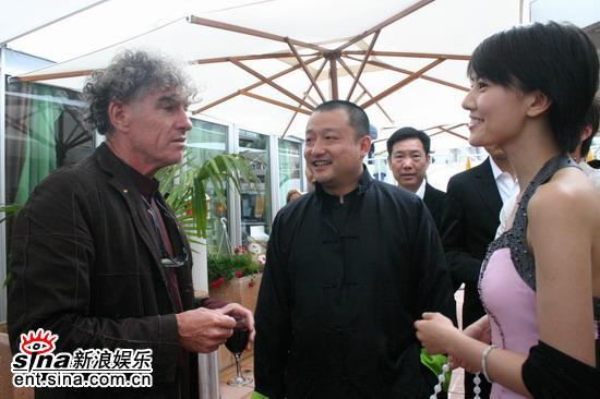 图文:《青红》戛纳推介会-著名摄影师杜可风捧场