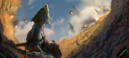 电影中看不到的绚烂色彩:《星战》原版手绘作品