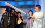 组图:《星战前传3》北京首映吴奇隆黄磊舞剑