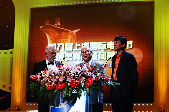 图文:第8届上海电影节闭幕各大奖项逐一揭晓