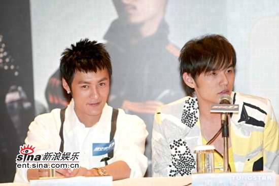 图文:《头文字D》香港首映众星首次集体出席(3)