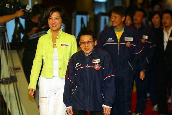 图文:北京国际体育电影周开幕式--泰迪罗宾