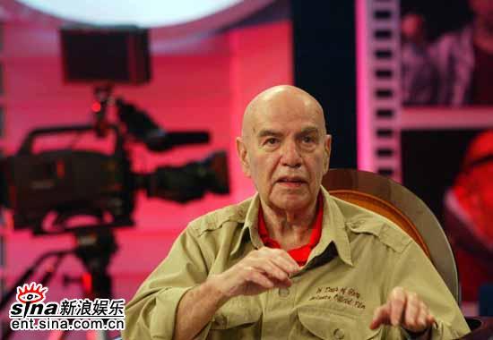 图文:电影大师格林斯潘对话陈凯歌(5)