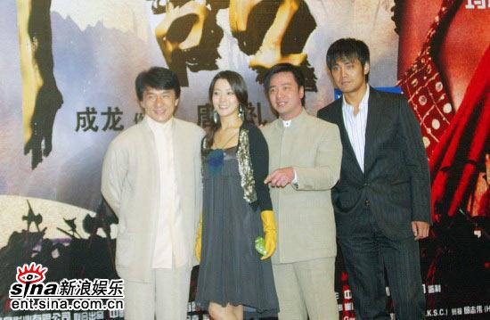 图文:《神话》北京首映发布会(6)