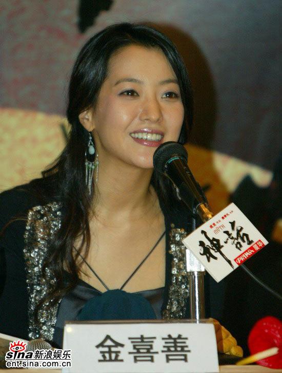 图文:《神话》北京首映发布会(30)