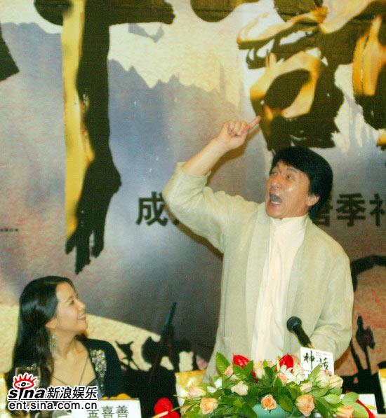 图文:《神话》北京首映发布会(39)