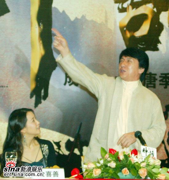 图文:《神话》北京首映发布会(41)