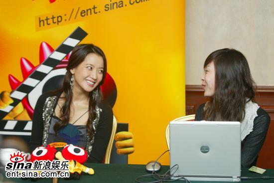 图文:韩国第一大美女金喜善新浪聊《神话》(18)