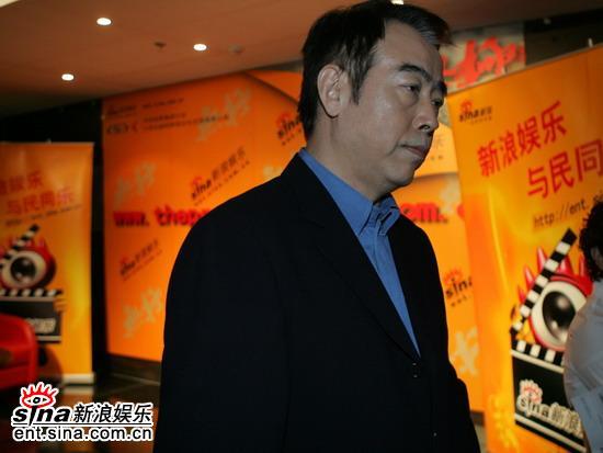 图文:《无极》官网启动导演陈凯歌在聊天室