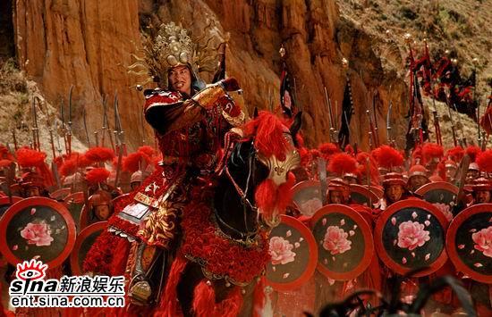 图文:《无极》最新剧照曝光-真田广之率军出征