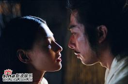 组图:《无极》最新剧照曝光张柏芝陷爱情角力