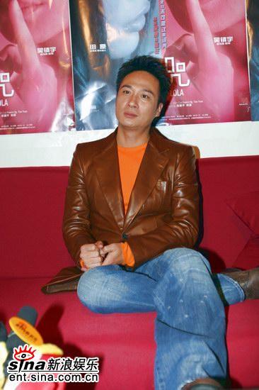 吴镇宇出席《诅咒》首映:爱德华诺顿演技很捧