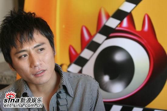 刘烨新浪聊《无极》分析鬼狼的悲剧色彩(组图)