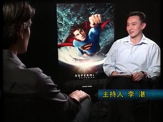 CCTV6《世界电影之旅》:对话《超人归来》主创