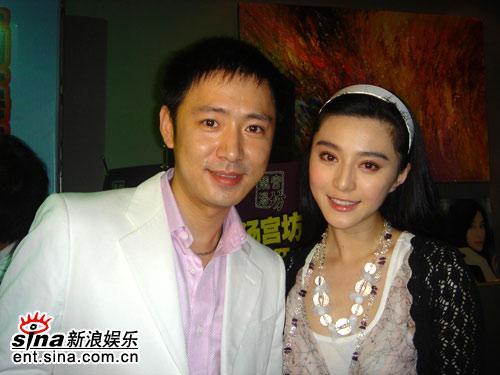 高鑫正式签约华谊兄弟为师姐范冰冰改行做主持