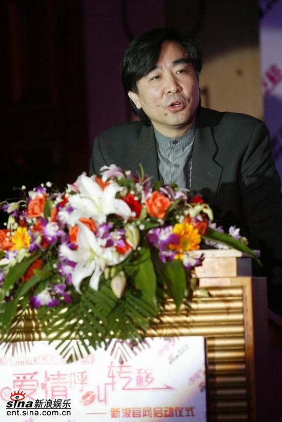 图文:派格太合环球传媒公司总裁孙健君先生致辞