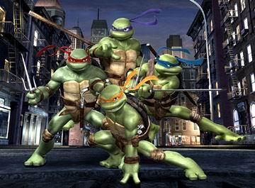 2007年不可错过好莱坞电影--《忍者神龟》