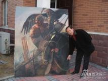 组图:《投名状》宣传短片图与王可伟作品对比