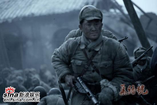 资料图片:冯小刚战争史诗片《集结号》剧照(12)