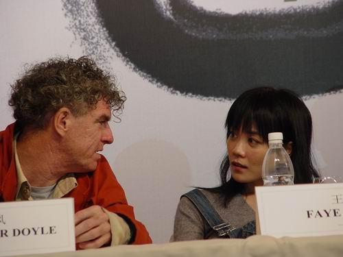 图文:《2046》举行见面会(3)-杜可风和王菲交流