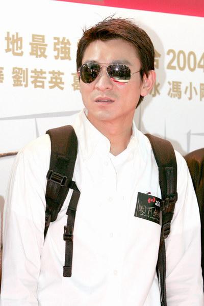 图文:《天下无贼》列车抵港刘德华受影迷追捧(8)