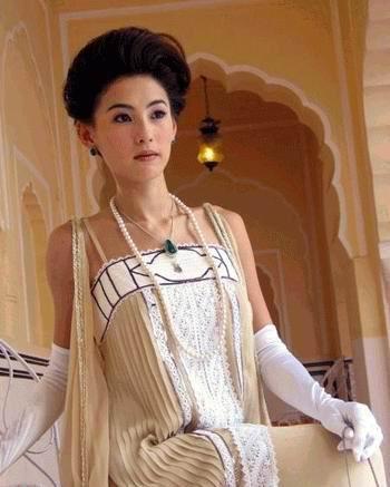 张柏芝《喜马拉亚星》贵妇新造型明艳动人(图)