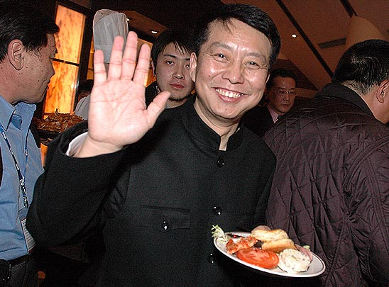 图文:第一届中国电影导演协会年度奖开幕-黄建新