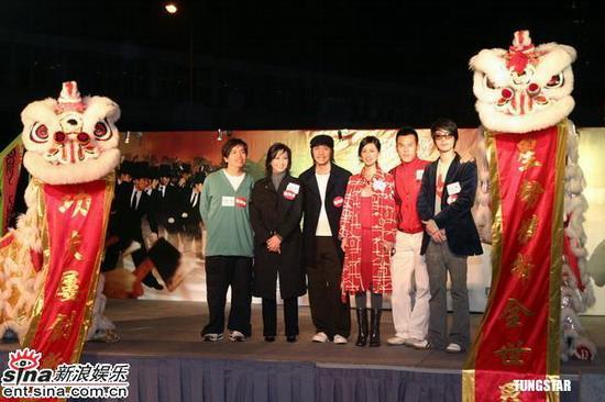 图文:《功夫》大摆群雄宴周星驰黄圣依亮相(13)