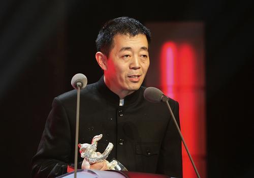 组图:顾长卫处女作《孔雀》获得银熊评委会大奖