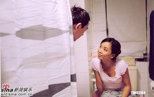 邓萃雯和黄秋生演夫妻共用厕所不尴尬(组图)