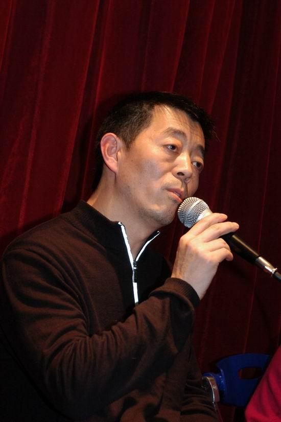 图文:《孔雀》上海首映―导演顾长卫2