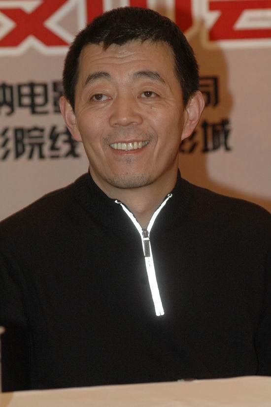 图文:《孔雀》上海首映―导演顾长卫
