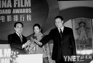 中国电影排行榜成立颁奖典礼将于五月举行