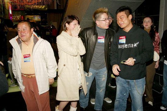 组图:曾志伟、林晓峰等出席《变相怪B》首映