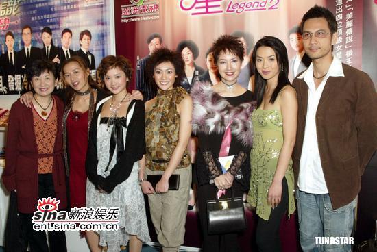 组图:陈炜张文慈麦家琪等出席香港国际影视展