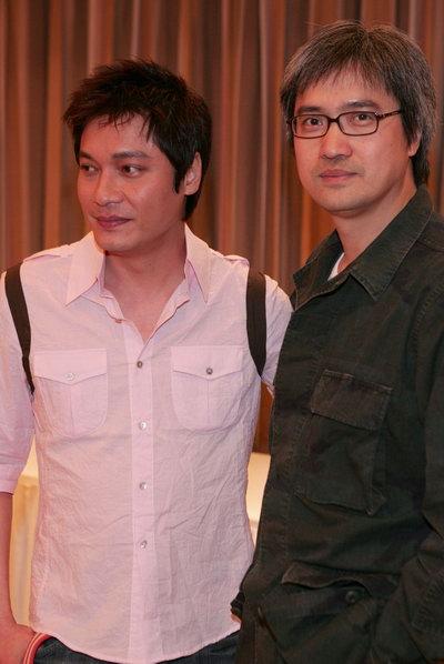 组图:罗嘉良等出席电影《三岔口》媒体访问会