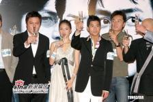 组图:《三岔口》首映主演出席李心洁跛脚到场