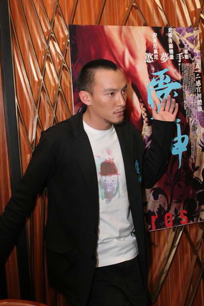组图:《爱神》香港首映张震一幕床戏拍八小时