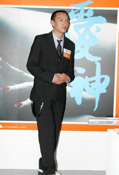 组图:《爱神》香港举行首映礼张震等众星出席