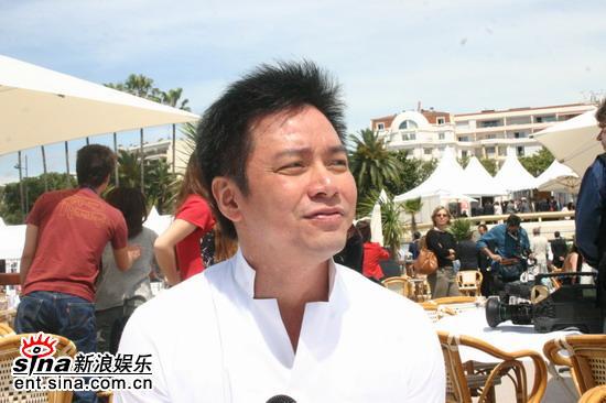 图文:唐季礼戛纳海滩讲《神话》