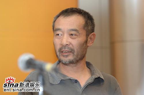 图文:田壮壮等出席《中国电影百年》首发式