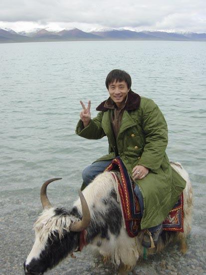 """高峰陷入""""三角恋""""赴西藏情迷《那木错》(图)"""