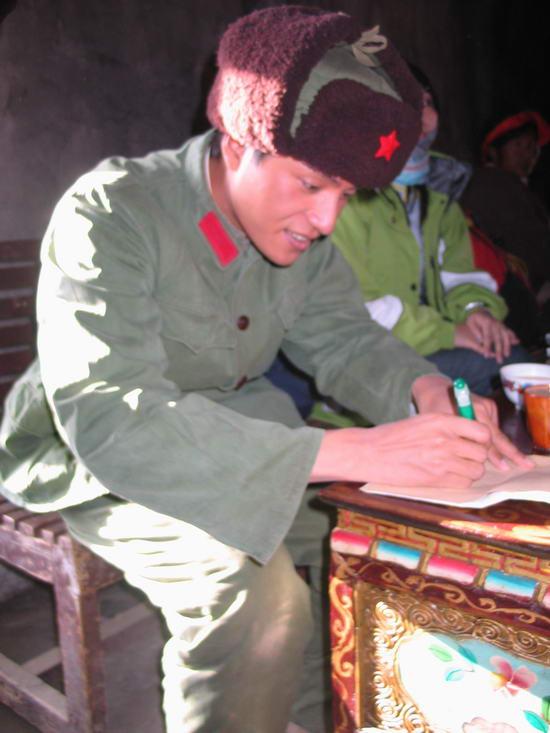《云水谣》西藏拍摄陈坤挑战高原反应(组图)