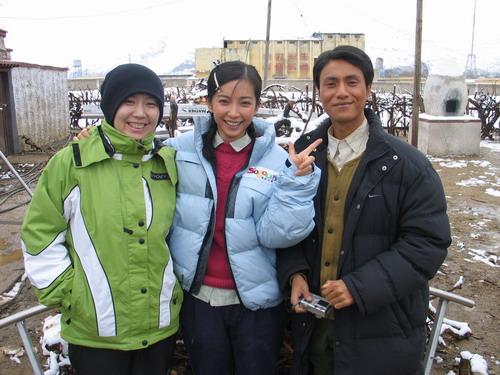 《云水谣》西藏拍摄陈坤李冰冰终于见面(组图)